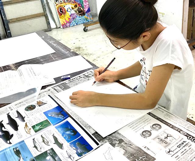 子ども絵画教室