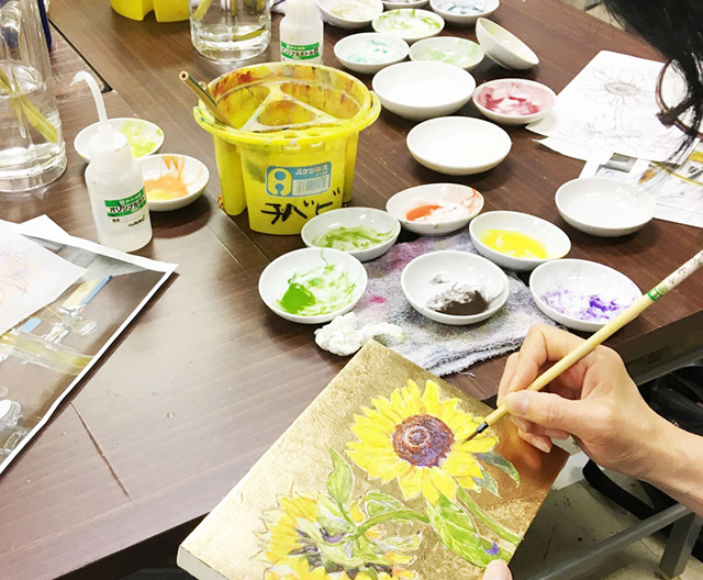 特別講習会/千葉の絵画教室