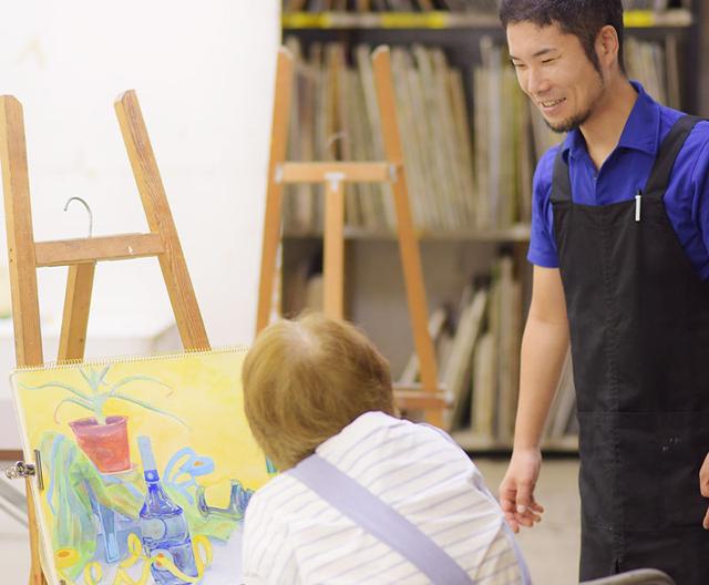 無料体験入学の案内/千葉の絵画教室