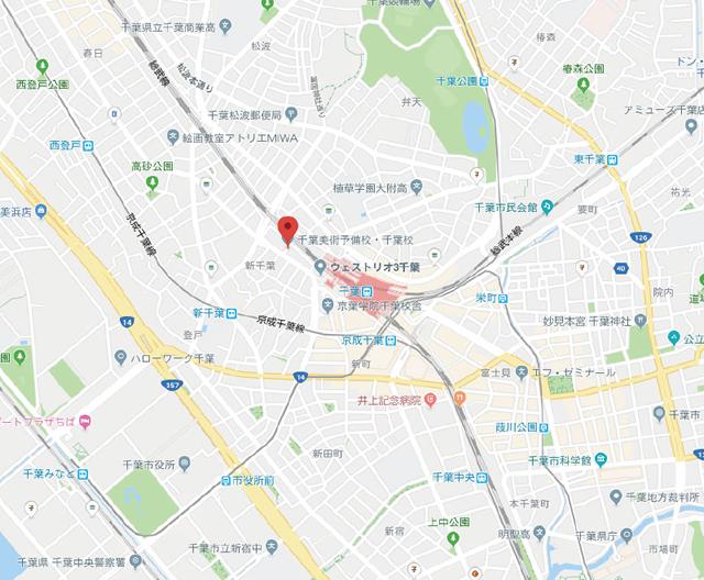 アクセス/千葉の絵画教室