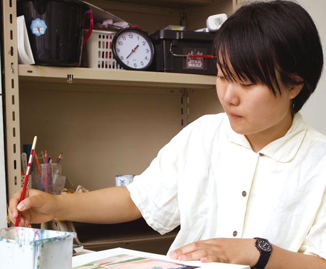 加納 紫帆/千葉の絵画教室
