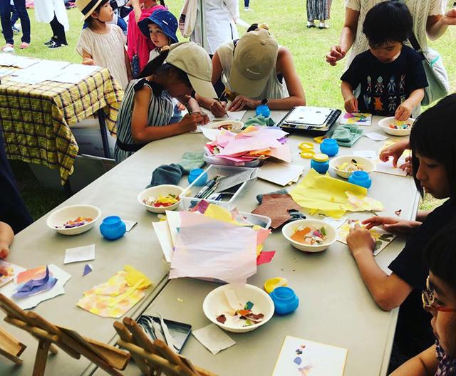 ちぎり絵体験講座/千葉の絵画教室