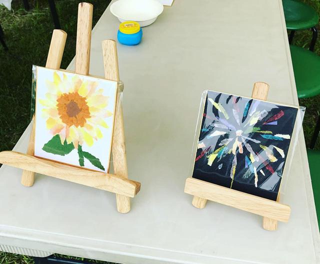 2019 にわのわ アート&クラフトマーケットチバ/千葉の絵画教室