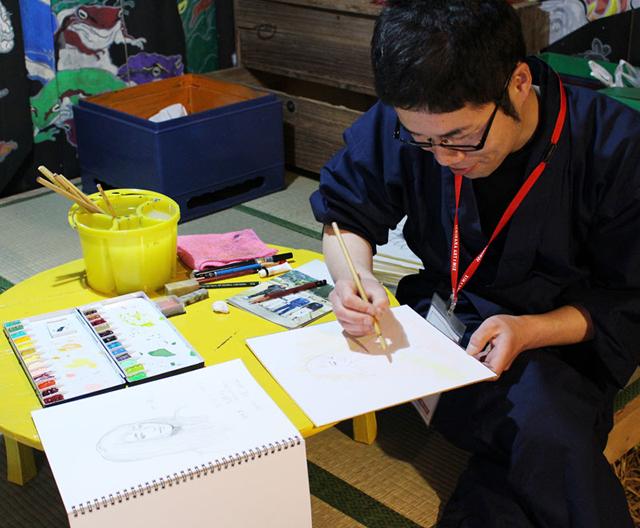 いちはらアート×ミックス2017 イチマル/千葉の絵画教室